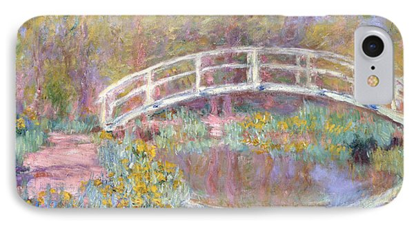 Bridge In Monet's Garden IPhone Case