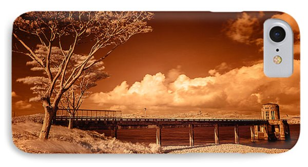 Bridge On The Lake IPhone Case