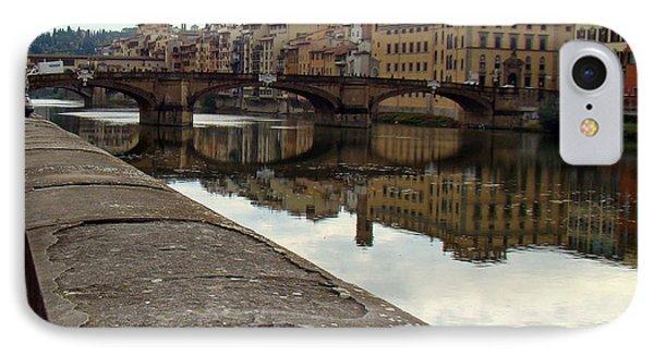 Bridge Over Quiet Waters IPhone Case