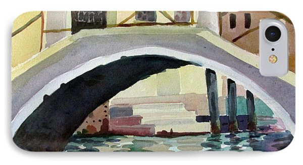 Bridge Reflections Venice IPhone Case