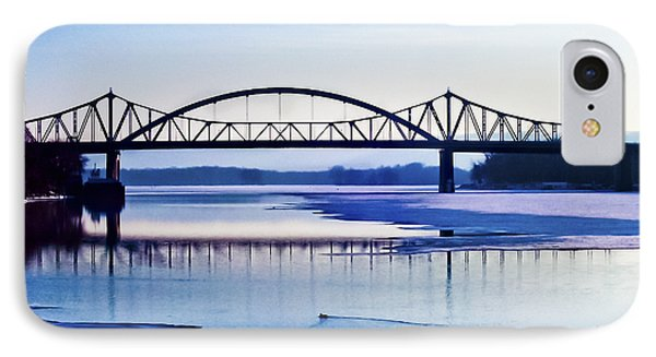 Bridges Over The Mississippi IPhone Case