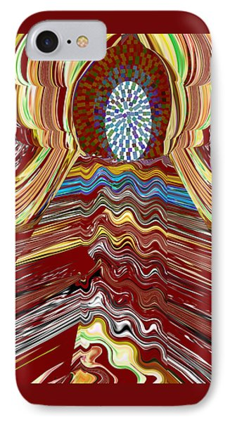 Bridge To Holy Grail Of Mystical Energies Whimisical Abstract By Navinjoshi At Fineartamerica.com  IPhone Case