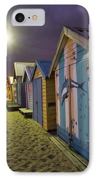 Brighton Beach Huts Melbourne IPhone Case