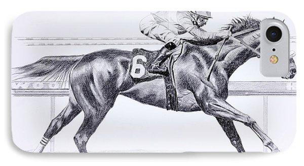 Bring On The Race Zenyatta IPhone Case