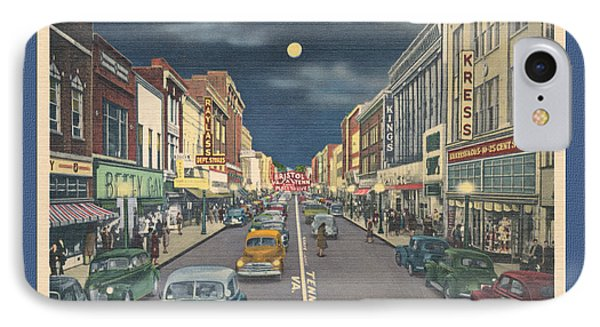 Bristol At Night In The 1940's IPhone Case