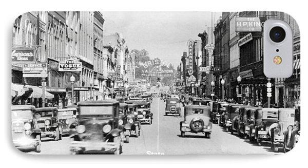 Bristol Virginia Tennessee State Street 1931 IPhone Case