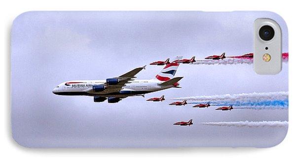 British Airways A380-841 IPhone Case