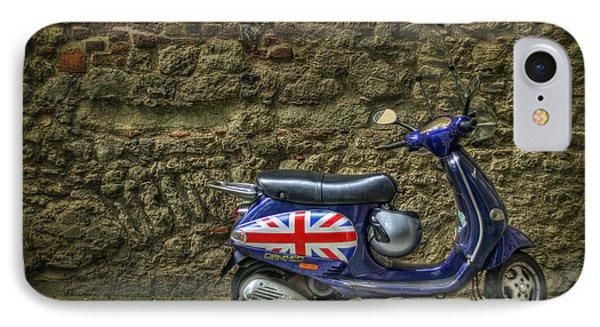 England iPhone 8 Case - British At Heart by Evelina Kremsdorf