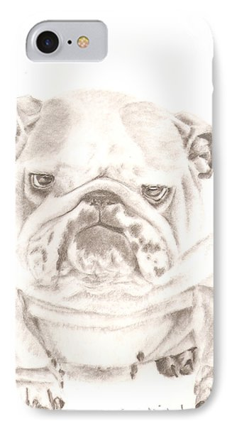 British Bulldog Winnie IPhone Case
