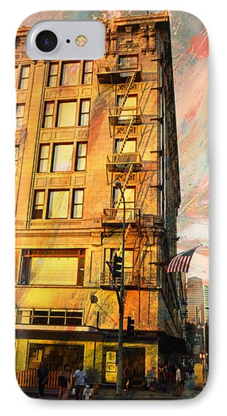 Broadway And Ninth Facing West IPhone Case
