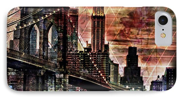 Brooklyn Bridge II IPhone Case