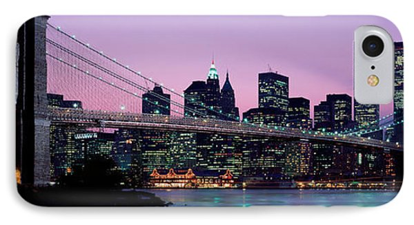 Brooklyn Bridge New York Ny Usa IPhone Case