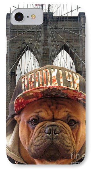 Brooklyn Dog IPhone Case