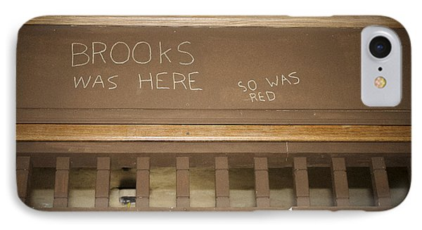 Brooks Was Here IPhone Case