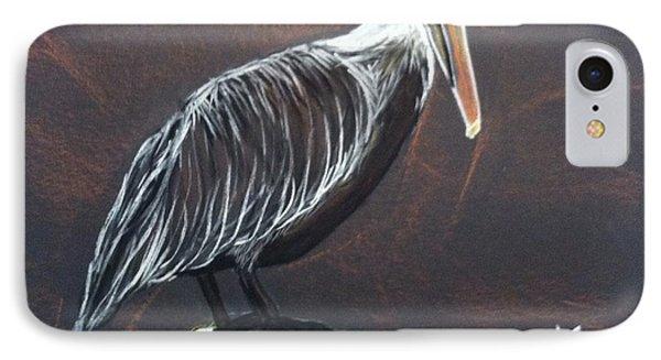 Brown Pelican At Shrimp Dock IPhone Case