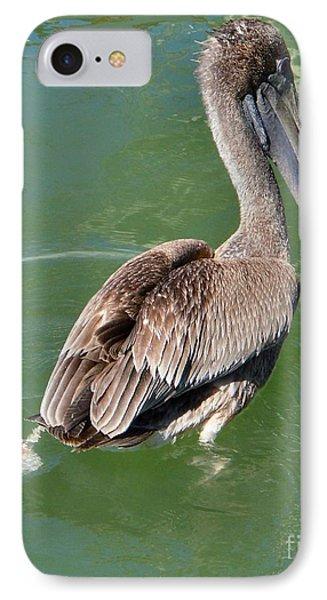 Brown Pelican II IPhone Case