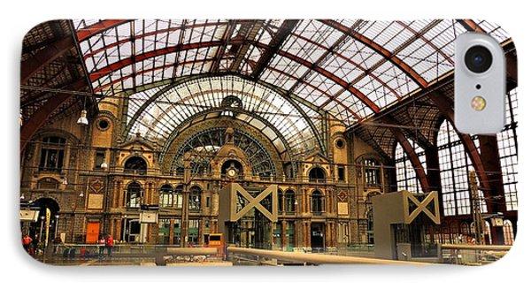 Bruges Train Station IPhone Case