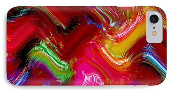 Brush Of Colour Vivid IPhone Case