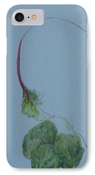 Brussel Sprouts And Beet Leaf IPhone Case