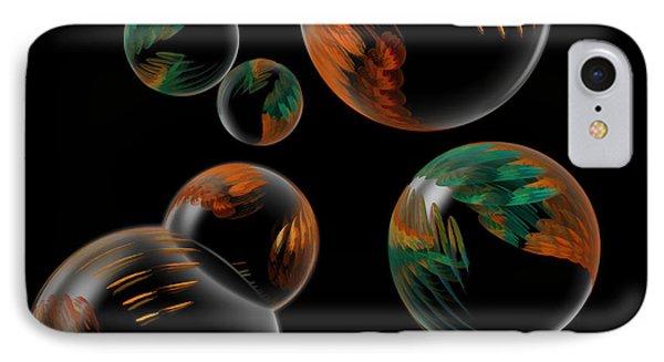 Bubble Farm Fractal IPhone Case