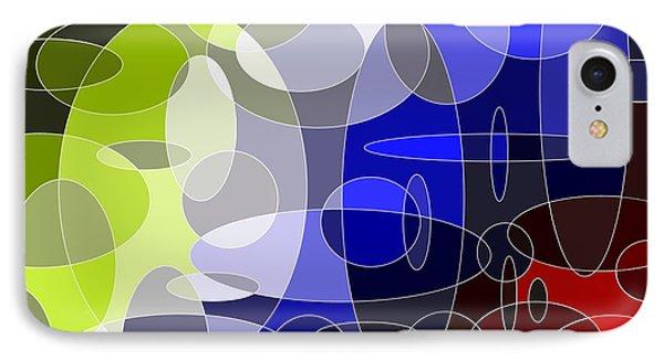 Bubbling Colours IPhone Case