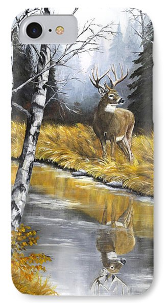Buck Reflection IPhone Case