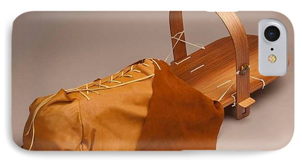 Buckskin Cradleboard IPhone Case