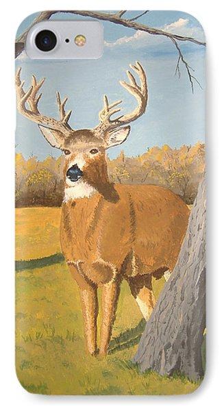 Bucky The Deer IPhone Case
