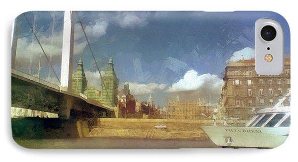 Budapest Elisabeth Bridge IPhone Case
