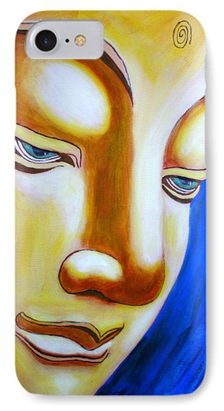 Buddha Head Gazing Art IPhone Case