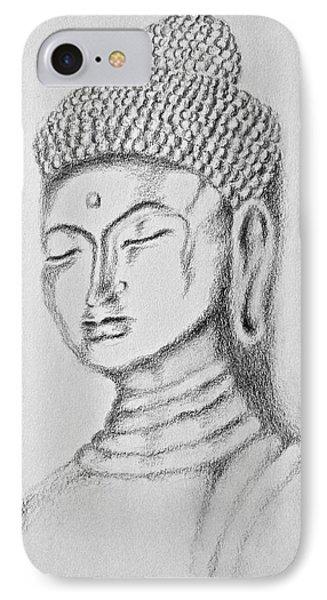 Buddha Study IPhone Case