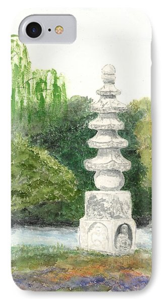 Buddha Monument IPhone Case