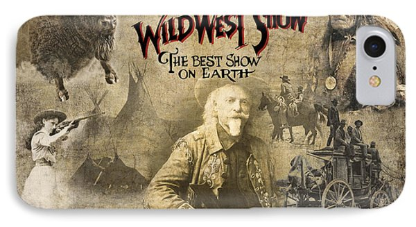 Buffalo Bill Wild West Show IPhone Case