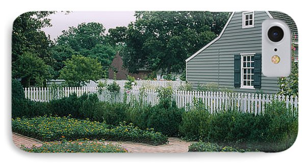 Building In A Garden, Williamsburg IPhone Case