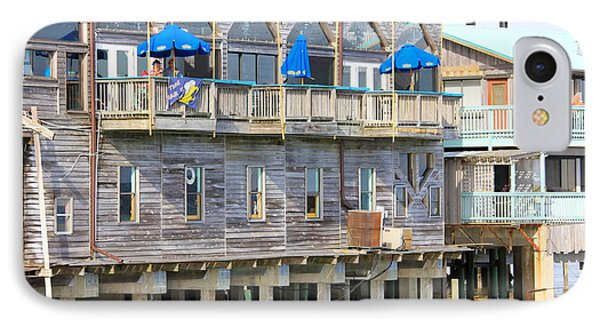 Building On Piles Above Water IPhone Case