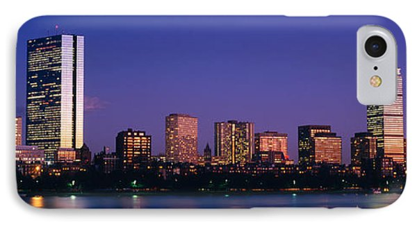 Buildings Along A River, Charles River IPhone Case