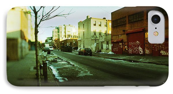 Buildings In A City, Williamsburg IPhone Case