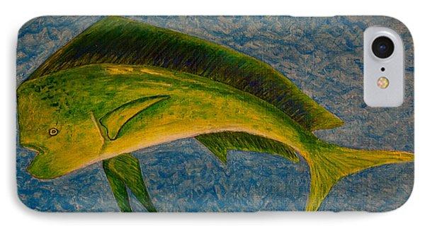 Bull Dolphin Mahimahi Fish IPhone Case