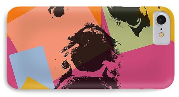 Bulldog Pop Art IPhone Case
