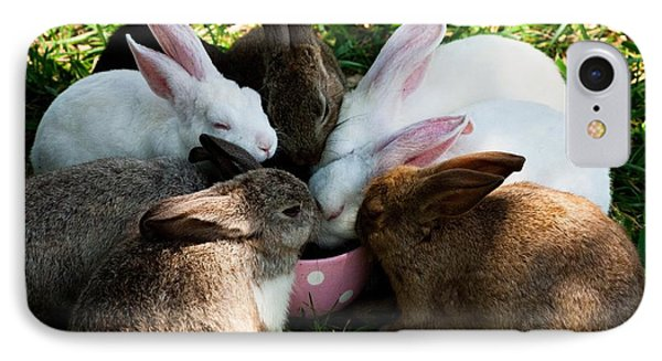 Bunny Tea Party IPhone Case