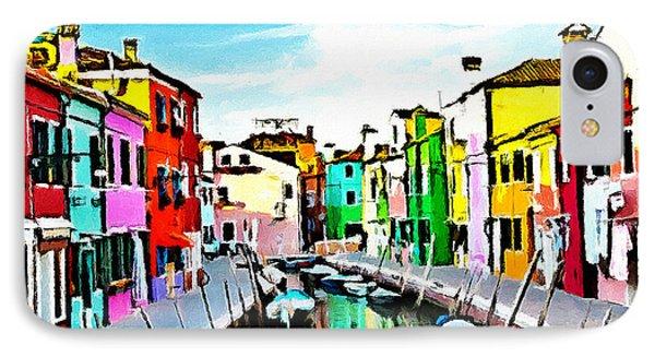 Burano - Venice - Italy IPhone Case