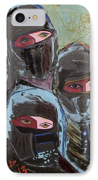 Burka 3 IPhone Case