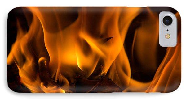 Burning Holly IPhone Case