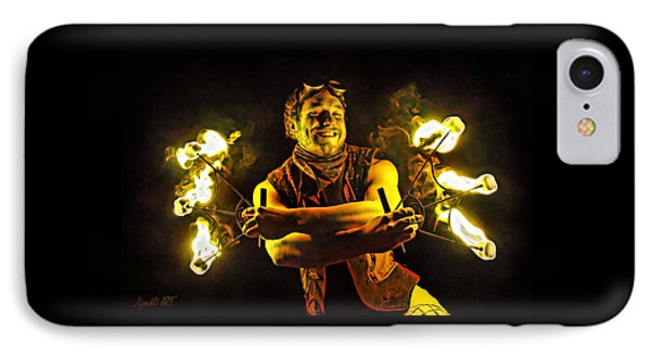 Burning Passion IPhone Case