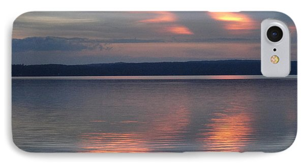 Burt Lake Sunset 2 IPhone Case