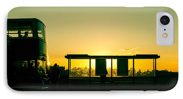 Bus Stop At Sunset IPhone Case