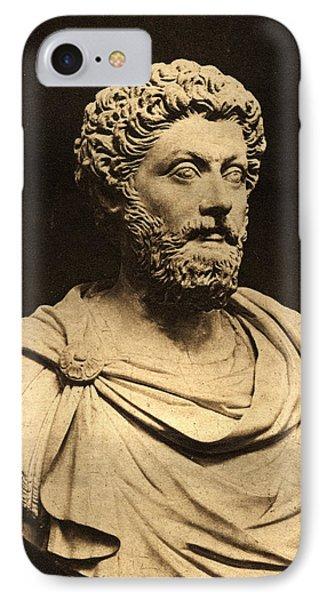 Bust Of Marcus Aurelius 121-80 Ad Marble IPhone Case