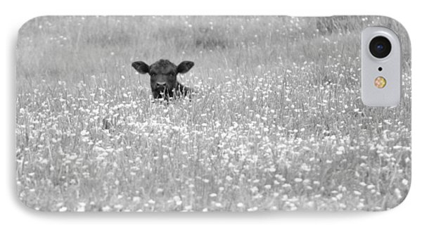 Buttercup In Black-and-white IPhone Case