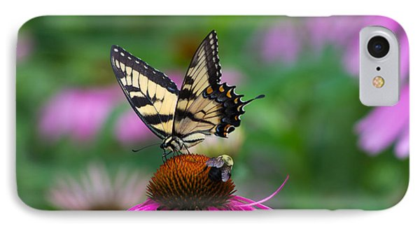 Butterfly And Bee IPhone Case