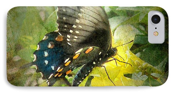 Butterfly And Jasmine IPhone Case